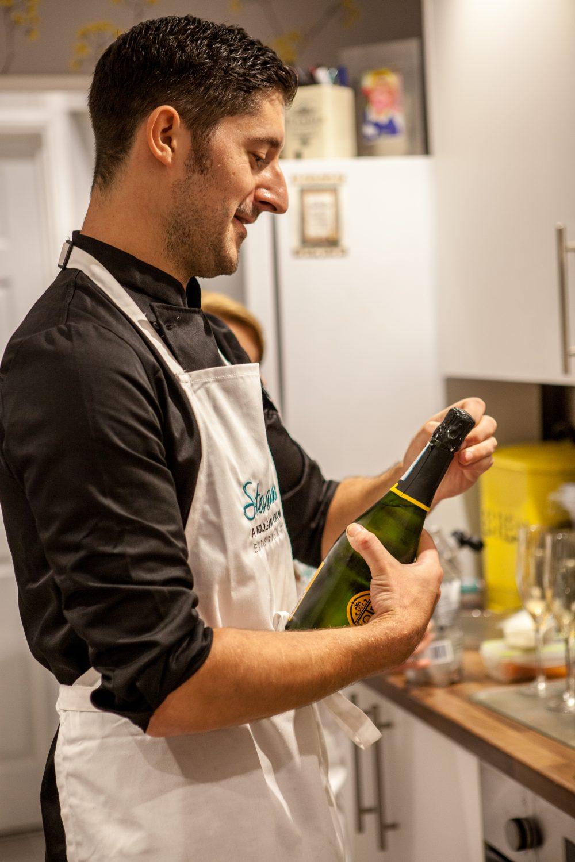 Dorset caterer Steve James