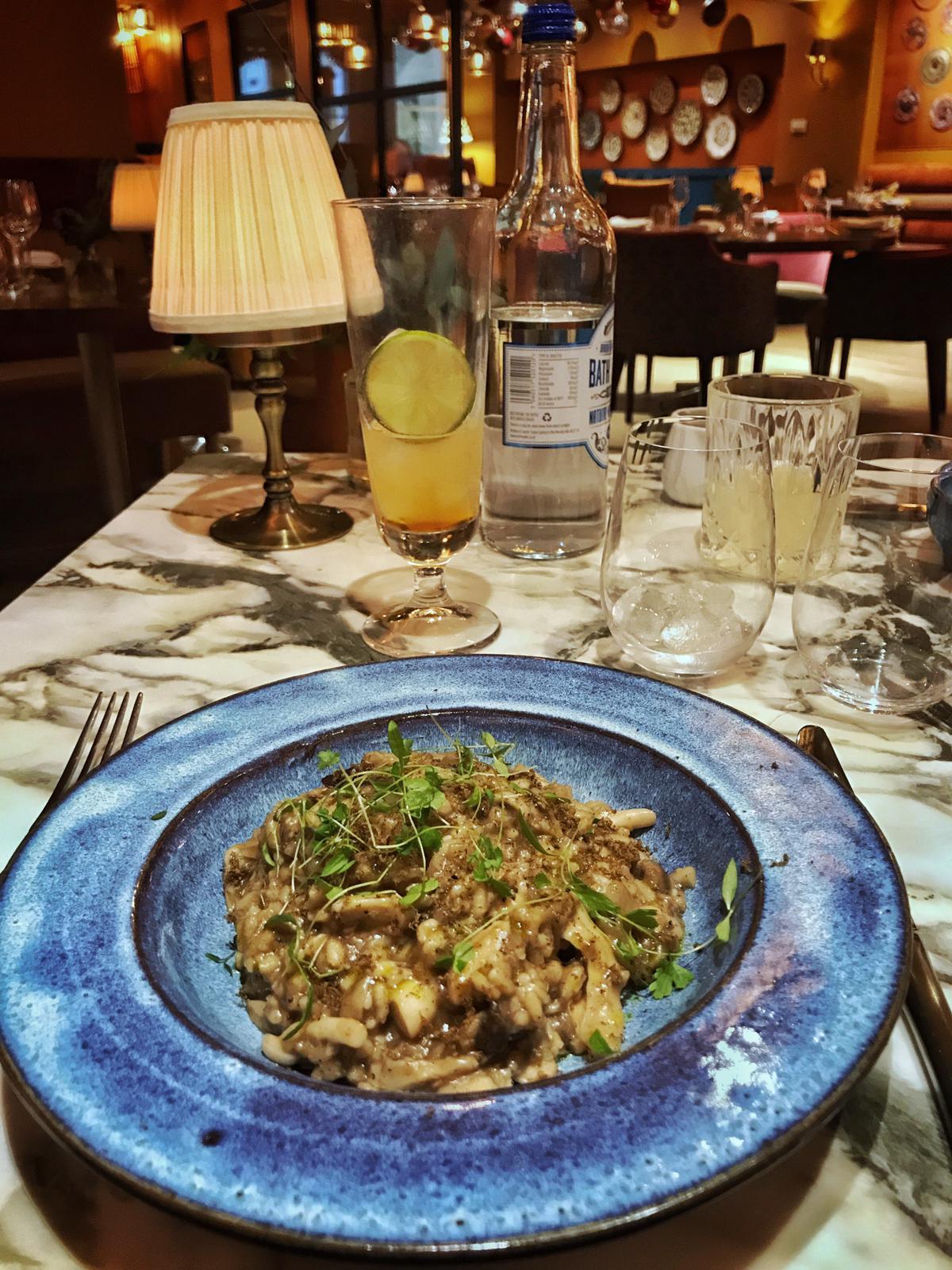 Mushroom-risotto-Plate-Bathwick